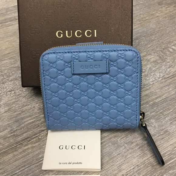 3fc430d7767120 Gucci Bags   Baby Blue Brand New Wallet   Poshmark